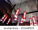 Arrangement Of Hanging Lightin...