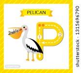 letter p uppercase cute... | Shutterstock .eps vector #1315696790