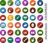 color back flat icon set   barn ... | Shutterstock .eps vector #1315698230