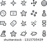 bold stroke vector icon set  ... | Shutterstock .eps vector #1315705439