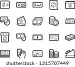 bold stroke vector icon set  ... | Shutterstock .eps vector #1315707449