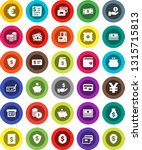 white solid icon set  credit... | Shutterstock .eps vector #1315715813