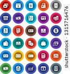 white solid icon set  credit... | Shutterstock .eps vector #1315716476