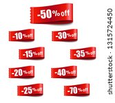 discount tag sale with gradient ... | Shutterstock .eps vector #1315724450