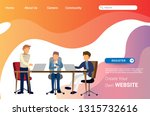 landing page template design of ...