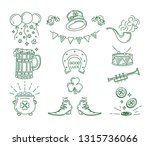 st. patricks day symbol... | Shutterstock .eps vector #1315736066