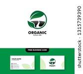 vector logo design for... | Shutterstock .eps vector #1315739390