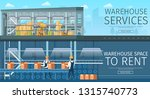 warehouse service. modern... | Shutterstock .eps vector #1315740773