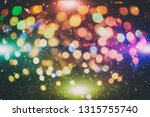 christmas and new year feast... | Shutterstock . vector #1315755740