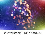 christmas and new year feast... | Shutterstock . vector #1315755800