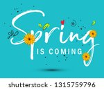 spring sale offer background... | Shutterstock .eps vector #1315759796