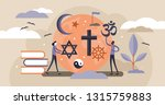 religion vector illustration.... | Shutterstock .eps vector #1315759883
