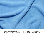 photo of blue wave microfiber... | Shutterstock . vector #1315793099