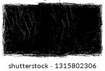 frame with scratch black and... | Shutterstock .eps vector #1315802306
