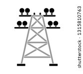 Electric Tower Icon ...