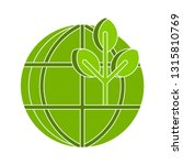ecology earth icon  eco world... | Shutterstock .eps vector #1315810769