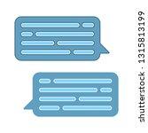 speech bubble illustration ... | Shutterstock .eps vector #1315813199