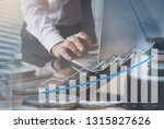business analysis  financial... | Shutterstock . vector #1315827626