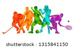 color sport background.... | Shutterstock .eps vector #1315841150