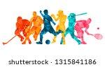 color sport background.... | Shutterstock .eps vector #1315841186