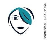 salon and spa icon | Shutterstock .eps vector #1315844456