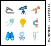 9 discovery icon. vector...   Shutterstock .eps vector #1315845563