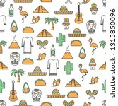 vector seamless pattern with... | Shutterstock .eps vector #1315850096
