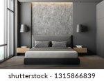 front view of modern bedroom... | Shutterstock . vector #1315866839