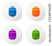 color propane gas tank icon... | Shutterstock .eps vector #1315876439