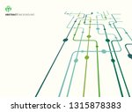 abstract technology perspective ... | Shutterstock .eps vector #1315878383