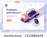 round the clock car towing... | Shutterstock .eps vector #1315886639