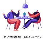two coworker businessman... | Shutterstock .eps vector #1315887449