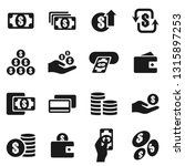 set of icons on a theme... | Shutterstock .eps vector #1315897253