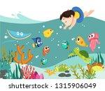 cartoon vector illustration of... | Shutterstock .eps vector #1315906049