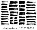 brush strokes. vector... | Shutterstock .eps vector #1315920716