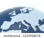 european countries 3d... | Shutterstock . vector #1315928276