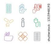 treatment icons. trendy 9... | Shutterstock .eps vector #1315948193