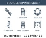 6 chain icons. trendy chain... | Shutterstock .eps vector #1315956416