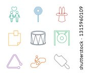 stick icons. trendy 9 stick... | Shutterstock .eps vector #1315960109