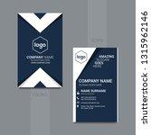 modern simple vertical business ... | Shutterstock .eps vector #1315962146