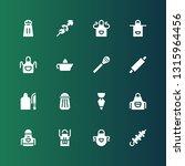 preparation icon set.... | Shutterstock .eps vector #1315964456