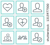 network icons set with dialogue ... | Shutterstock .eps vector #1315977500