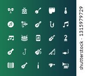 bass icon set. collection of 25 ... | Shutterstock .eps vector #1315979729