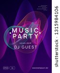 electronic fest. dynamic... | Shutterstock .eps vector #1315984106