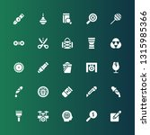 instrument icon set. collection ... | Shutterstock .eps vector #1315985366