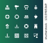 belt icon set. collection of 16 ... | Shutterstock .eps vector #1315985369