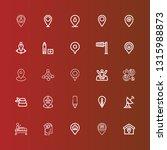 editable 25 position icons for... | Shutterstock .eps vector #1315988873