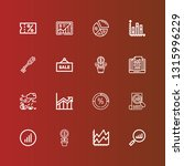 editable 16 increase icons for... | Shutterstock .eps vector #1315996229