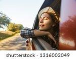 image of european woman 20s... | Shutterstock . vector #1316002049