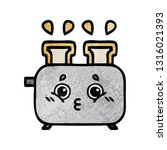 retro grunge texture cartoon of ... | Shutterstock .eps vector #1316021393